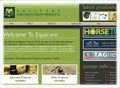 Website Development in Egypt :Equicare Products : Fine Equestrian Products